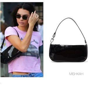 🎉Baguette Patent Leather Shoulder Bag